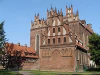 Kościół Św. Trójcy w Gdańsku od strony południowo-zachodniej