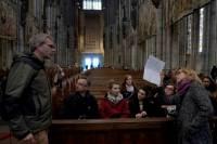 Zwiedzanie katedry w Kolonii<br />Autor: Grzegorz Pachla