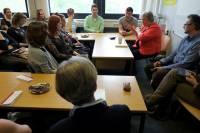 Spotkanie ze studentami w mogunckim Colegium Polonicum<br />Autor: Grzegorz Pachla