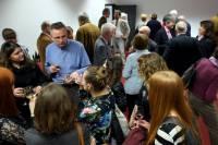 Spotkanie integracyjne z naukowcami po promocji książki prof. Christophera Herrmanna<br />Autor: Grzegorz Pachla